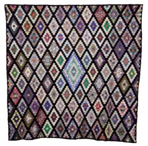 Hexagon Lozenges Coverlet image