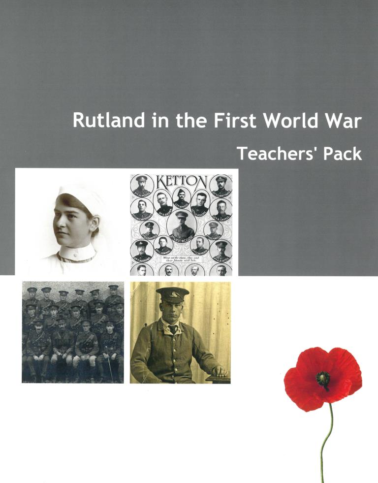 Rutland in WWI -Teachers Pack..