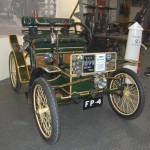 1899 Decauville on display at Rutland County Museum