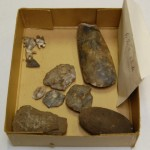 Sample of Rutland flint tools