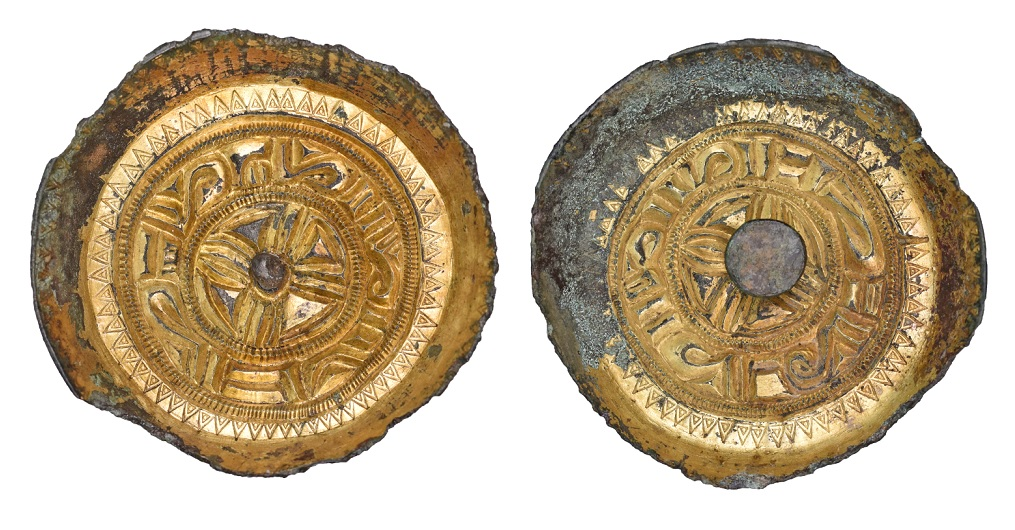 Anglo-Saxon Saucer brooch OS46