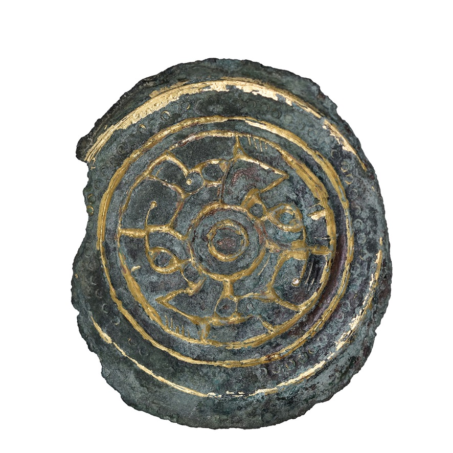 Anglo-Saxon Disc Brooch